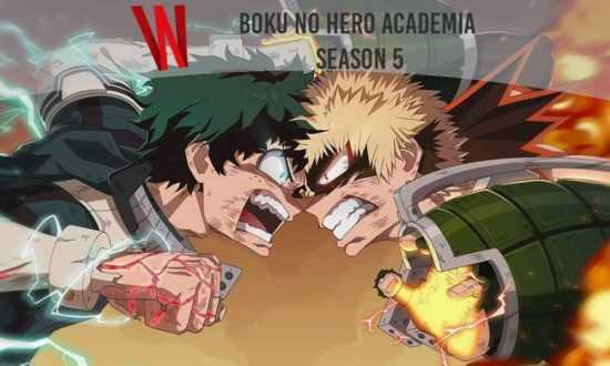 Boku No Hero Acadamia Season 5