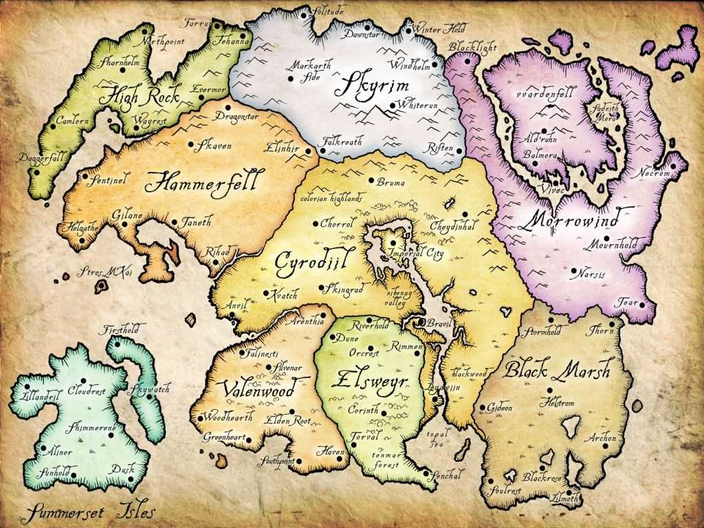 the elder scrolls 6 map