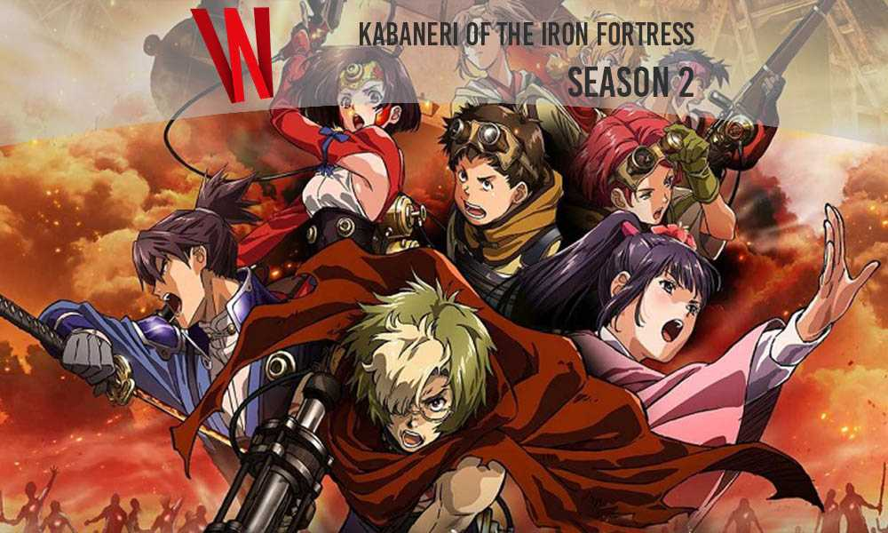 Kabaneri of the iron fortress season 2