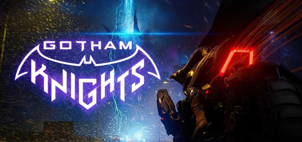 gotham knights batcycle