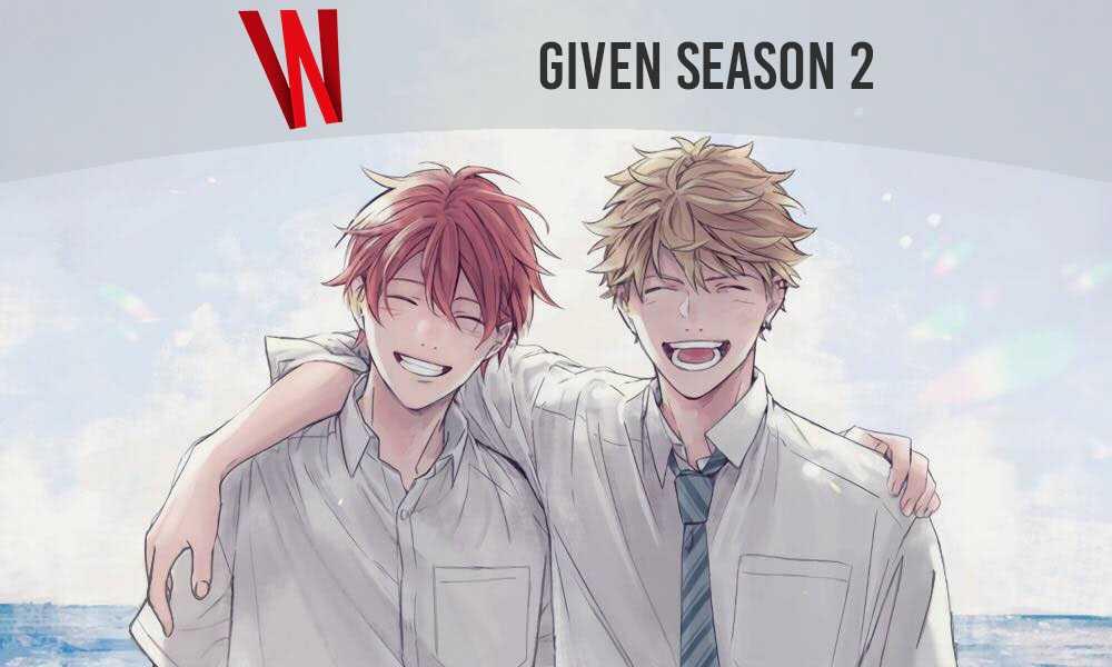 given anime season 2 release date