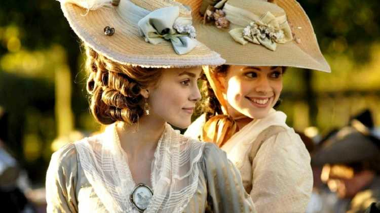 the duchess Keira Knightley