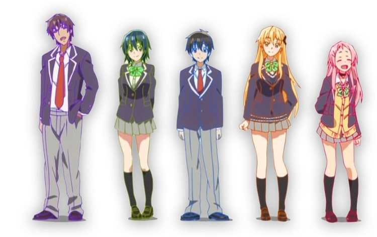 gamers anime characters