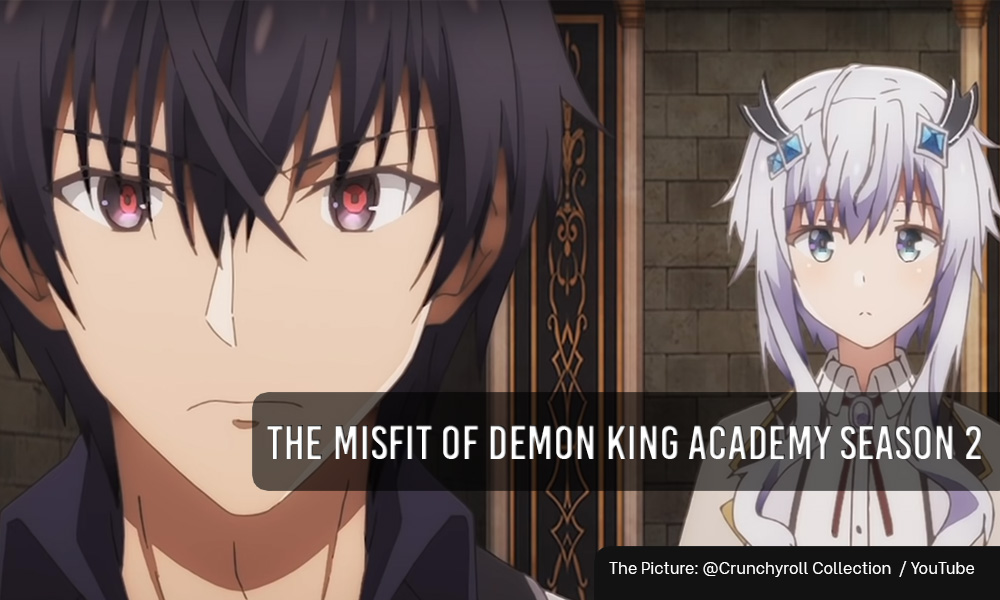 The Misfit of Demon King Academy season 2