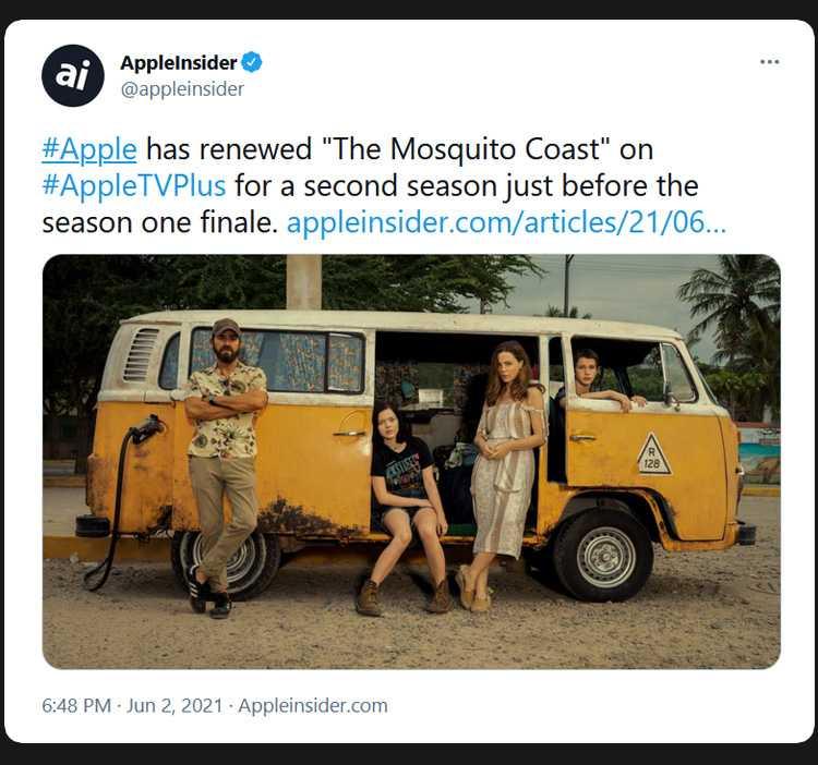 the mosquito coast renewed