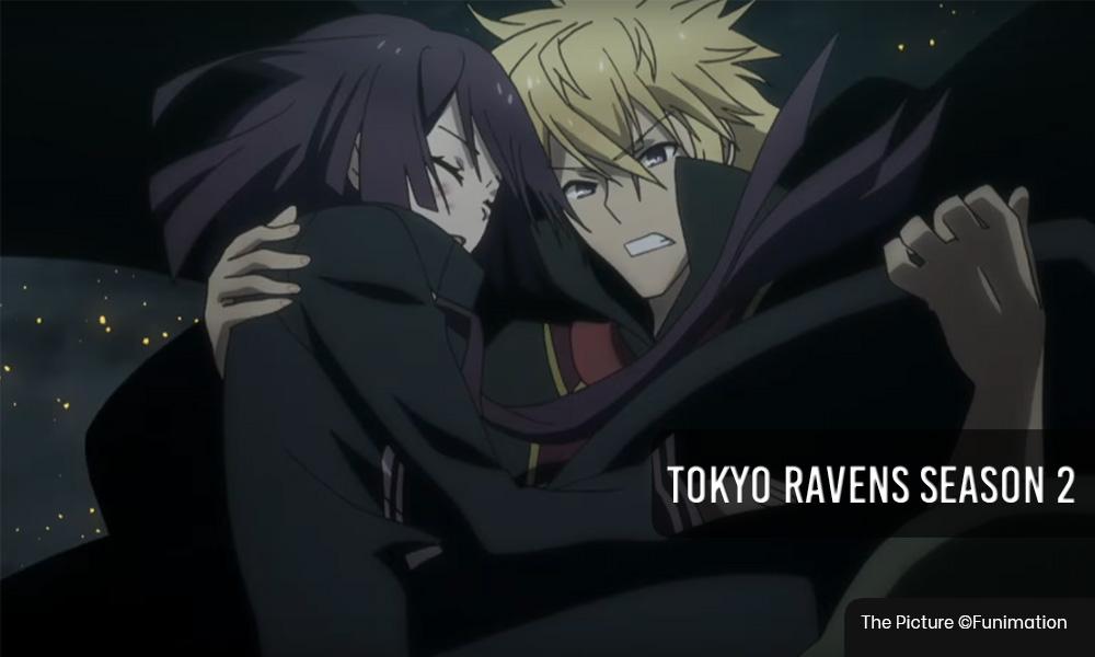 tokyo ravens season 2