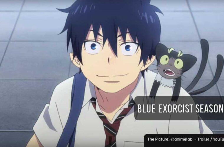blue exorcist season three